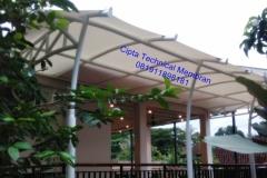 Tenda Membran Villa hambalang