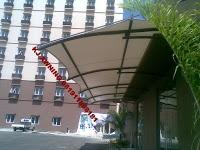 Tenda membran Hotel karawaci